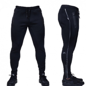 Штаны MEN MUSCLE FIT SWEATPANTS 2.0 BLACK