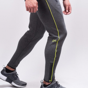 MEN MUSCLE FIT SWEATPANTS 2.0 DARK GREY